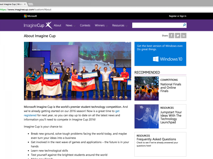 YFS Magazine Founder, Erica Nicole Selected to Judge 2013 Microsoft Imagine Cup