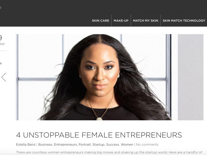 RUE CINQ Hails Erica Nicole Role Model For Women Entrepreneurs