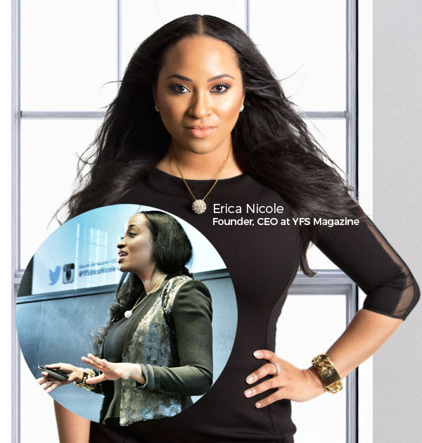 Erica Nicole, Leading Female Entrepreneur